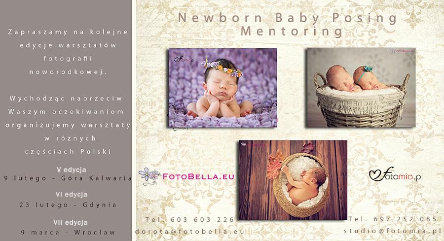 warsztaty Newborn Baby Posing