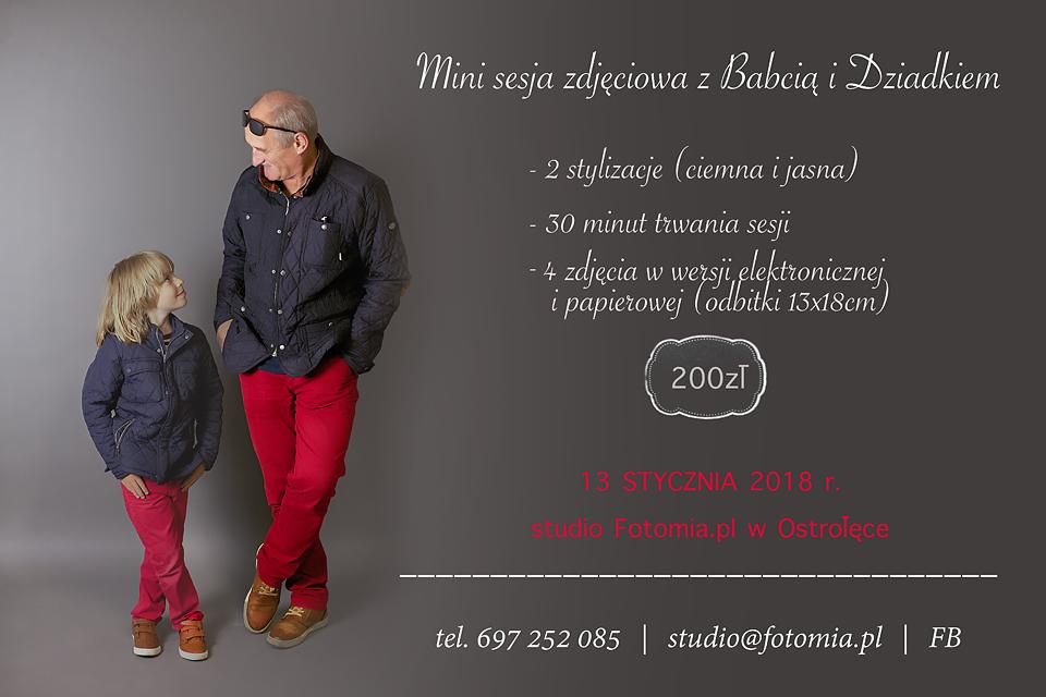 dzien babci i dziadka, www.fotomia.pl, studio Fotomia.pl
